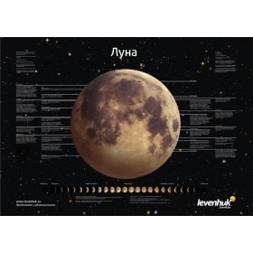 Постер Levenhuk Луна